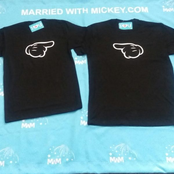 LGBT Gay Matching Shirts Aye He's Mine Mickey Mouse Pointing Hand Married With Mickey