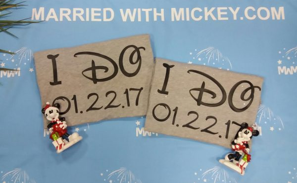 I Do With Wedding Date Mr Mrs With Custom Last Name married with mickey mwm