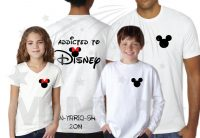 Addicted To Disney 3 and more Shirts With Mickey Minnie Mouse Heads Last Name Special Date married with mickey mwm