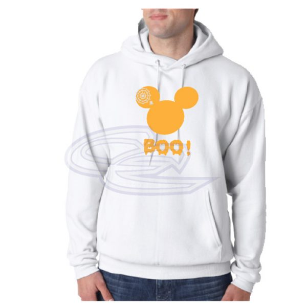 Disney Mickey Mouse Head Halloween Shirt Boo Spider