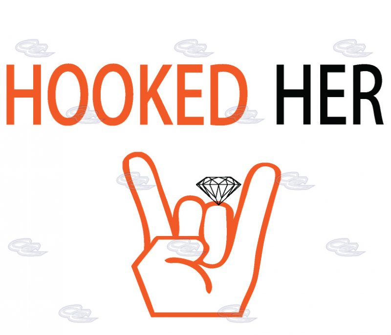 LGBT Hooked Her Ladies T-Shirt, V Neck T-Shirt, Ladies Raceback Tank Top and more