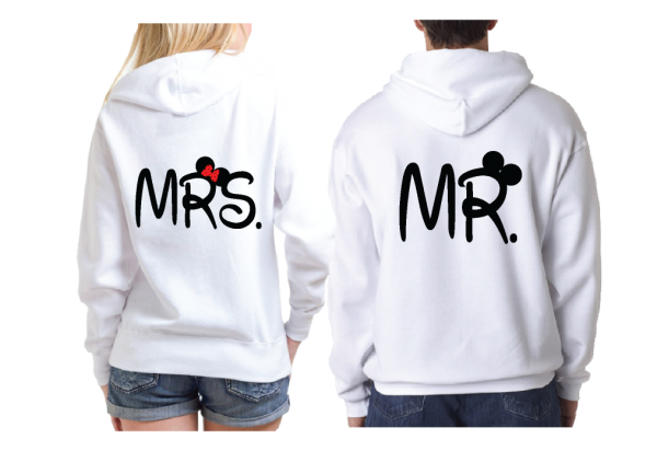 Bride And Groom Costumes Mr Mrs With Wedding Date