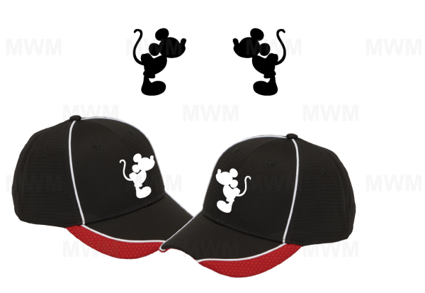 LGBT Gay Matching Couples Hats for Mr, Soul Mate, Prince, Mickey, Head, self-adhesive closure back