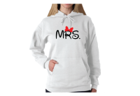 Mrs Shirt With Minnie Bow Disney Font