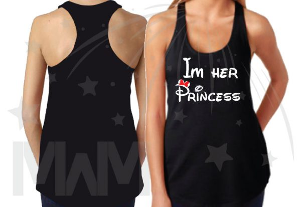 Disney Matching Family Shirts, LGBT Lesbian Parents I'm Her Princess She's My Princess Their Princess (3 and more shirts) married with mickey mwm