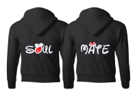 Soulmate Shirts Mickey's Hands with Initials