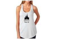 Sweet 16 Shirt With Disney Castle And Custom Name