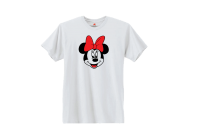 Disney Minnie Mouse Cute Red Bow Smiling Face