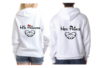 She's Mine He's Mine Her Prince His Princess Mickey's Hands In Heart Shape Unisex Sweatshirts, Ladies T-Shirts, Womans Tank Tops, Mens Tank Tops and more