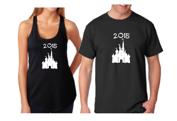Disney Cinderella Castle With Date For Mr Mrs Couple