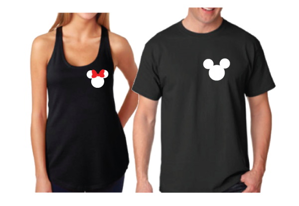 Addicted To Disney Cute Matching T-Shirts, V Neck TShirts, Tank Tops, Hoodies, Zip Ups and more