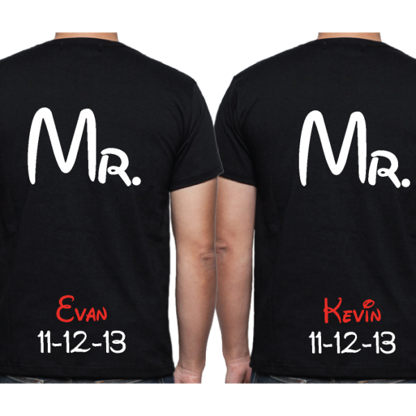 LGBT Gay Love Soul Mate Mr With Custom Name And Special Date