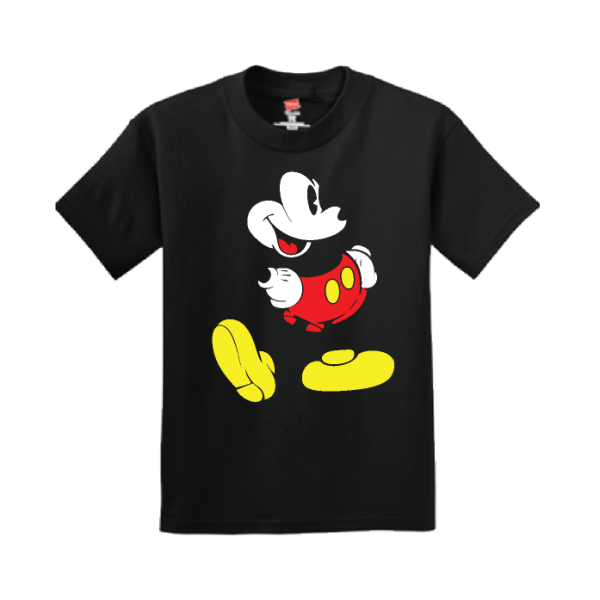 Disney Mickey Mouse Cute Old Style Design, Adult and Kids Sizes