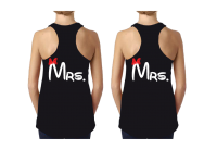 LGBT Lesbian Couple Shirts For Mrs Minnie Mouse