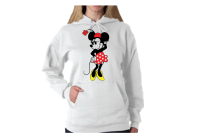 Minnie Mouse Very Cute Old Style Design T-Shirt, V Neck T-Shirt, Ladies Tank Top, Pullover Hoodie, Zip Up Hoody, Crew Neck Sweatshirt