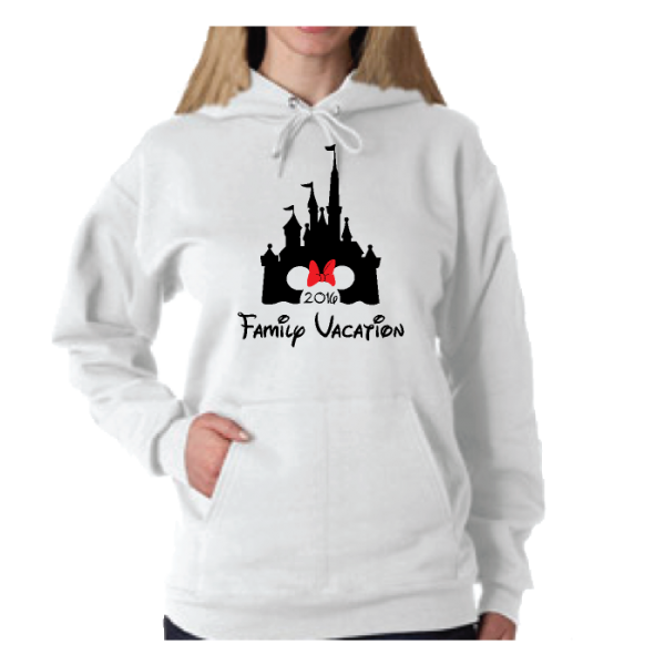 Cinderella Castle Minnie Mouse Head Cute Red Bow Family Vacation 2016 Married With Mickey MWM