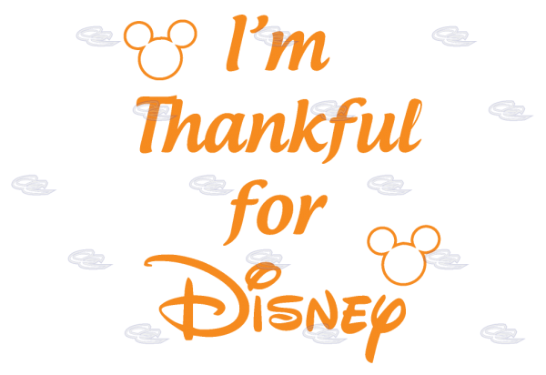 I'm Thankful for Disney mwm married with mickey