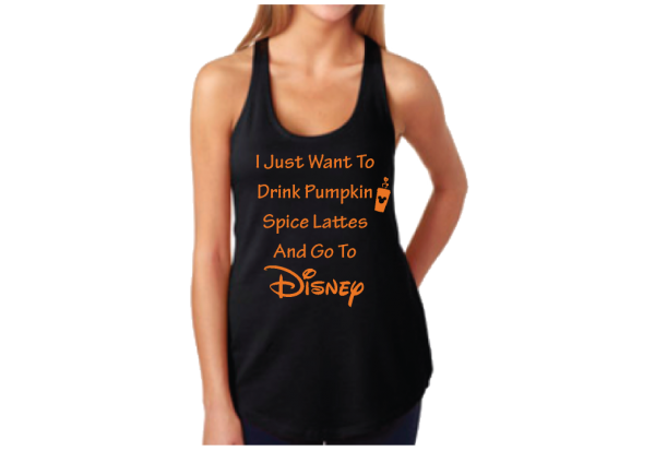 I Just Want To Drink Pumpkin Spice Lattes And Go To Disney mwm married with mickey