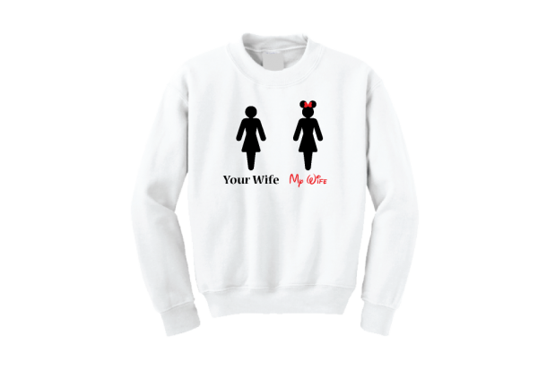 Your Wife My Wife Funny Guy Hubby Shirt mwm married with mickey