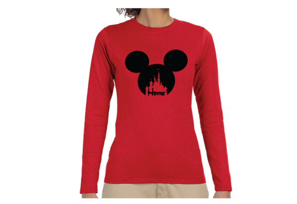 Disney Cinderella Homeadisney womens shirts Cinderella Home Ladies Shirt married with mickey Ladies Shirt married with mickey