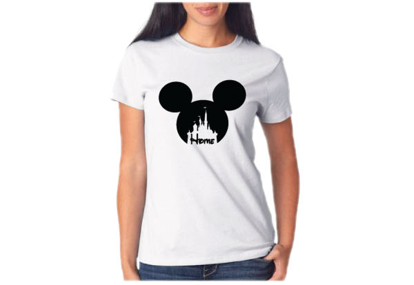 disney womens shirts Cinderella Home Ladies Shirt married with mickey