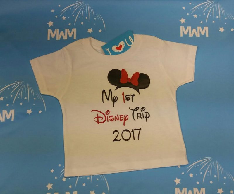 My 1st First Disney Trip 2017 Girl's Design Toddler Sizes Married With Mickey