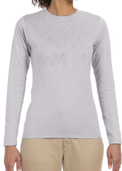 Ladies Cut Long Sleeve T-Shirt Married With Mickey