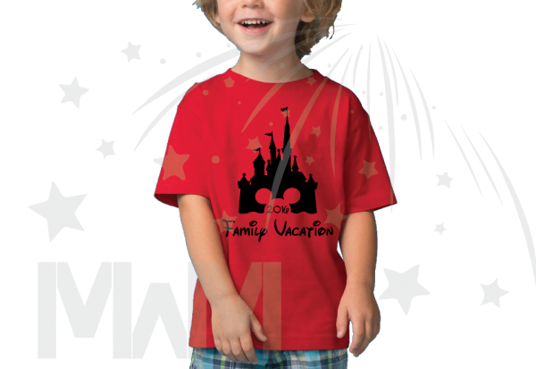 Cinderella Castle Minnie/Mickey Mouse Head Family Vacation 2016 married with mickey mwm