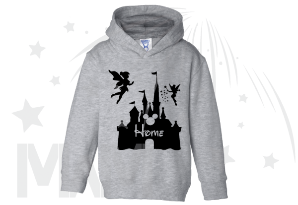 Home Cinderella Castle Cute Toddler Shirt married with mickey
