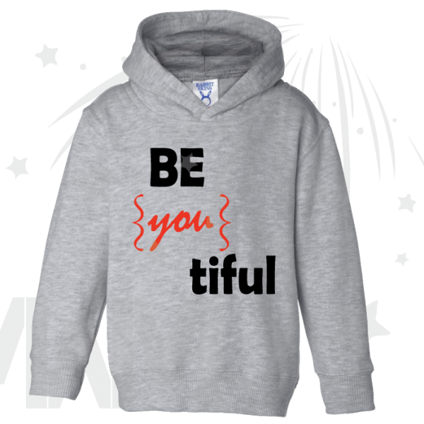Be you tiful Beautiful cute shirt toddler grey hoodie married with mickey