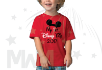 My 1st First Disney Trip 2017 Boy's Toddler Sizes Married With Mickey