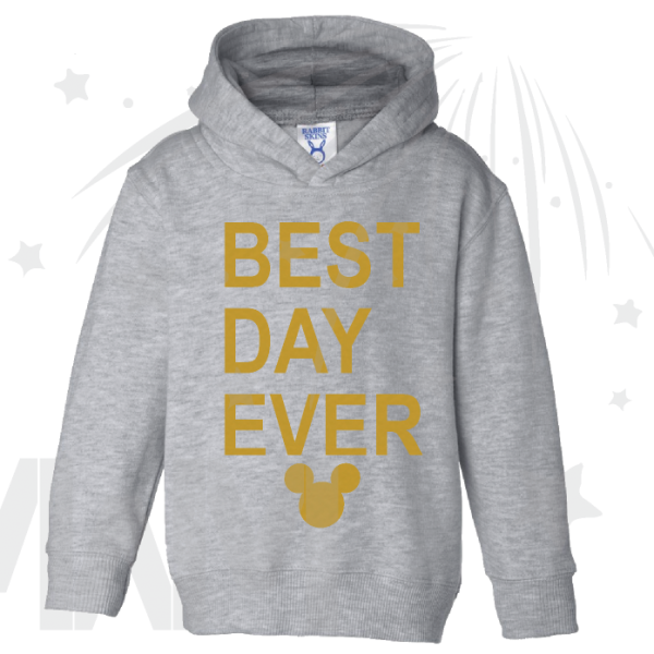 Best Day Ever Mickey Head Gold Graphics married with mickey mwm