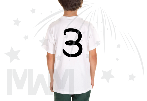Juju 3rd Birthday Picture Of Juju Disney Font Toddler Size White Tee