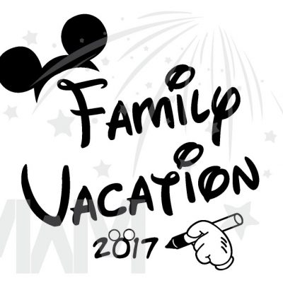 Family Set Of Shirts Choose Any Style, Family Vacation 2017 Mickey Mouse Glove Hand married with mickey mwm