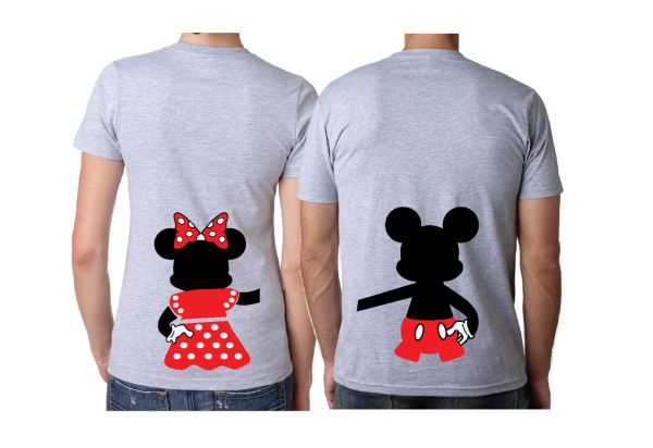 Oh Mickey You Are So Fine, I'm Mickey, Mickey Minnie Mouse Disney Cute Holding Hands married with mickey grey shirts