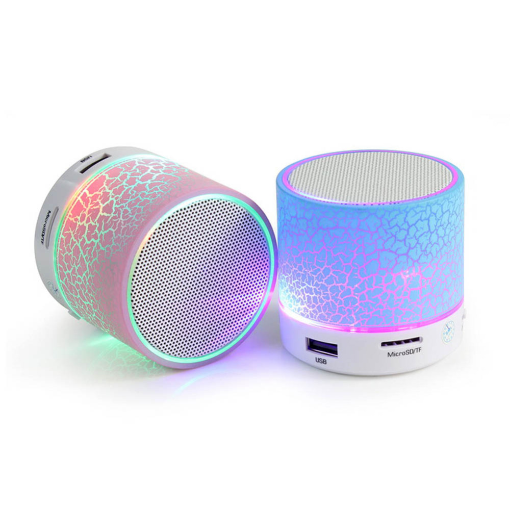 led portable mini bluetooth speakers wireless hands free. Black Bedroom Furniture Sets. Home Design Ideas
