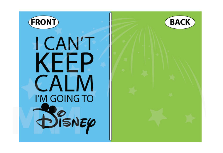 I Can't Keep Calm I'm Going To Disney Shirt married with mickey