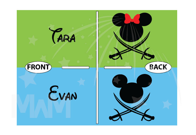 Disney Couple Mickey Minnie Mouse Pirate Awesome Shirts With Custom Names married with mickey