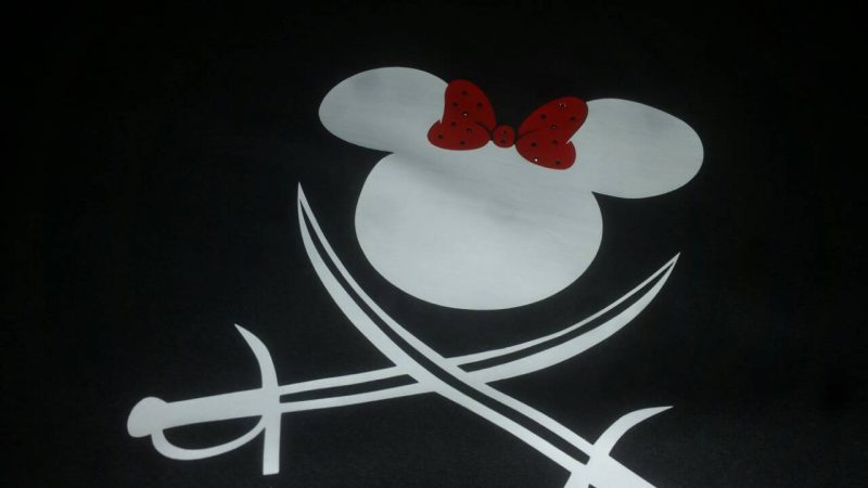 Disney Couple Mickey Minnie Mouse Pirate Awesome Shirts With Custom Names married with mickey black long sleeve shirts