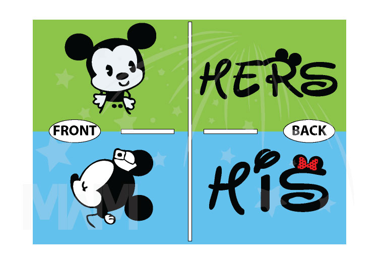 Little Mickey Minnie Mouse Kiss His And Hers T-Shirts, V Neck Tshirts, Tank Tops, Baseball Tees, Sweatshirts, Zip Up Hoodies and more married with mickey