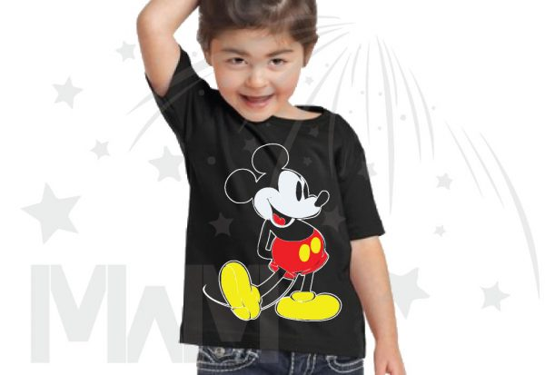Disney Mickey Mouse Old Style Design Toddler Sizes Married With Mickey married with mickey black tshirt