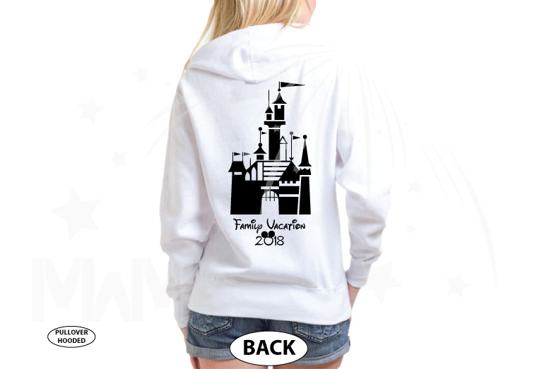 Mom Disney Font Shirt Minnie Mouse With Disney Castle Cute Red Bow married with mickey white sweaters