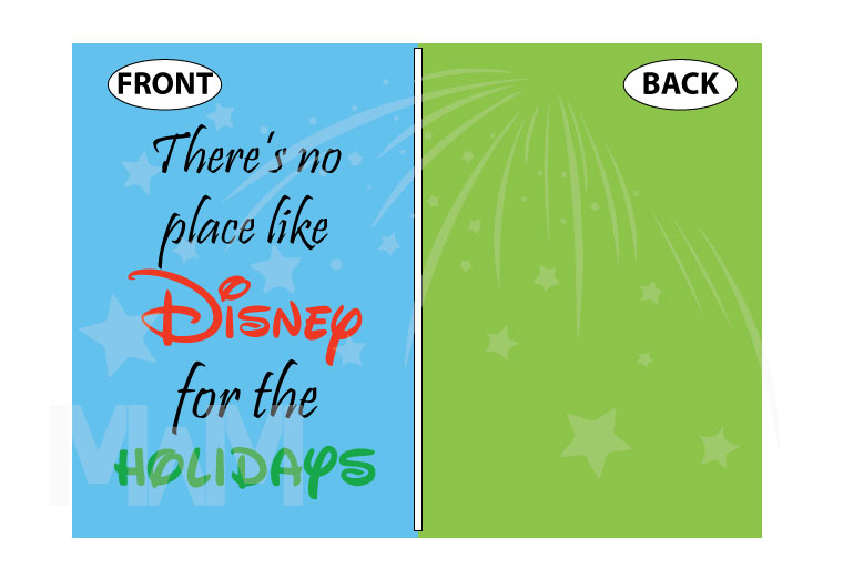 There's no place like Disney for the holidays married with mickey
