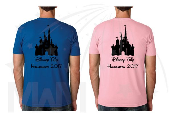 Family Inside Out Movie Anger Joy Sadness Disgust Fear Bing Bong Mickey Head Custom Names, Cinderella Castle Disney Trip Halloween 2017 married with mickey mens tshirts