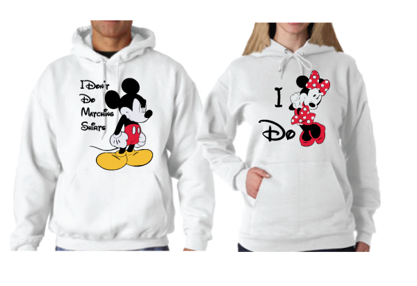 I Don't Do Matching Shirts Angry Mickey Mouse, I do Minnie Mouse married with mickey