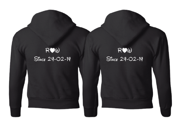 LGBT Gay Matching Couple Shirts, I'm His, They're Mine Designs married with mickey black hoodies