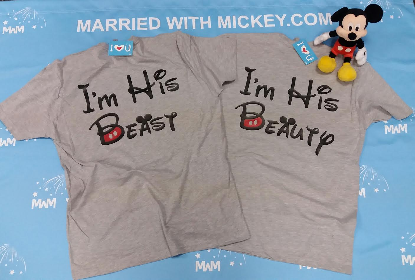 48d4dd1415 LGBT matching anniversary gifts for him couples Gays shirt I'm His Beauty  and I'm His Beast, Disney vacation trip disneymoon honeymoon etsy