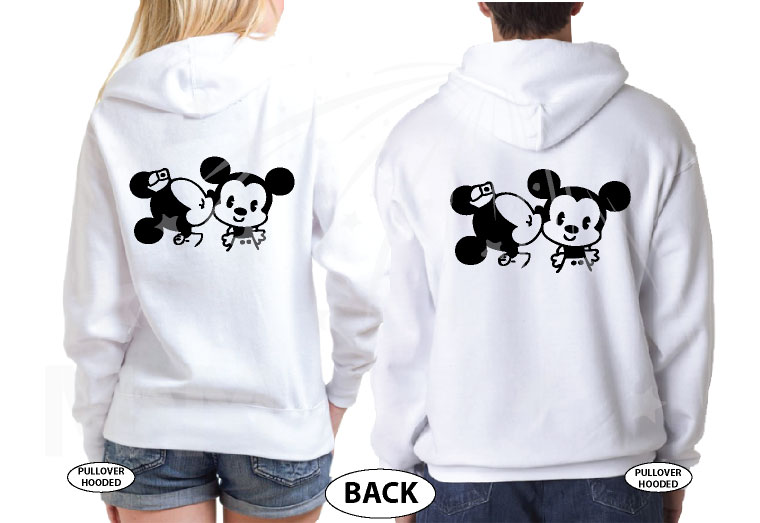 If Lost Return To Mary (Your Name) With Little Mickey Minnie Mouse Cute Kiss married with mickey white hoodies