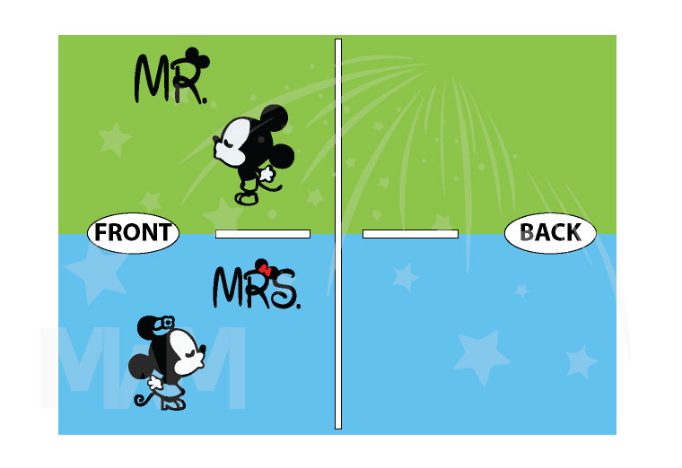 Mr Mrs Cute Kissing Little Mickey Minnie Mouse Matching Baseball Tees, Hoodies, T-Shirts and more married with mickey