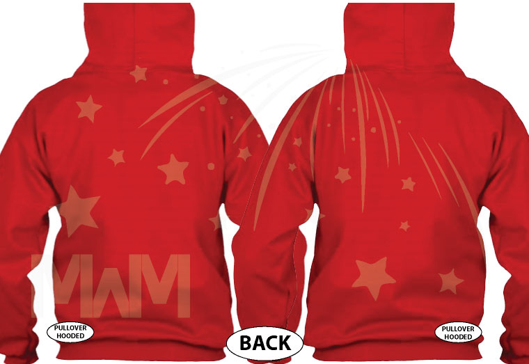 Her Prince His Princess Mickey Minnie Mouse Kissing On Front Design Pocket married with mickey red jumpers